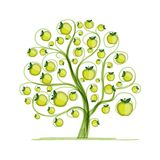 Apple tree for your design Royalty Free Stock Photography
