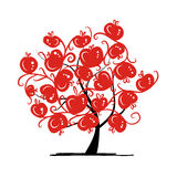 Apple tree for your design Royalty Free Stock Photo