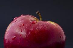 Apple-Tropfen Lizenzfreie Stockfotos