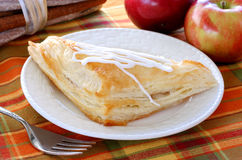 Apple turnover and apples Stock Photo