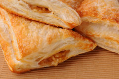 Apple Turnover Closeup Royalty Free Stock Photo