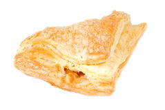 Apple Turnover Isolated on White Royalty Free Stock Photo