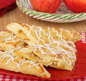 Apple Turnover Pastries Stock Image