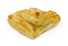 Apple turnover on white background Royalty Free Stock Images