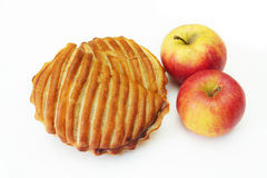 Apple turnover Stock Image