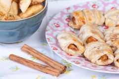 Apple turnovers Royalty Free Stock Images
