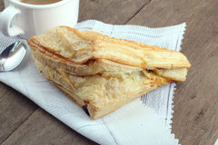Apple turnovers Stock Images