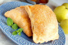 Apple turnovers Royalty Free Stock Photography