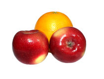 Apple u. Malta Stockbilder
