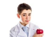 Apple um o dia mantém o doutor provérbio ausente, velho fotografia de stock royalty free