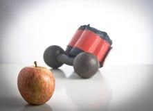 Apple und arbeiten aus Stockfotos