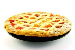 Apple-und Erdbeere-Torte Lizenzfreie Stockbilder
