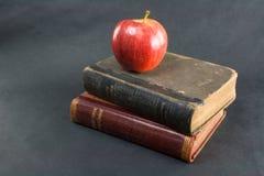 Apple und Leser vertikal Stockfotos