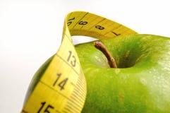 Apple und messendes Band für einen gesunden Lebensstil 1 stockbilder
