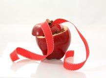 Apple und Zimt lizenzfreies stockfoto