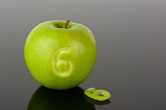 Apple 6 Stock Image