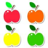 Apple uppsättning. vektor illustrationer