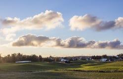 Apple vårträdgård Fotografering för Bildbyråer