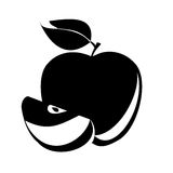 Apple. Vector Royalty Free Stock Photos