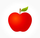 Apple vector illustration Royalty Free Stock Image