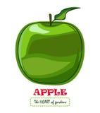 Apple vector o desenho ilustração stock