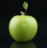 Apple verde fotografia stock