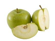 Apple verde fresco Foto de archivo libre de regalías