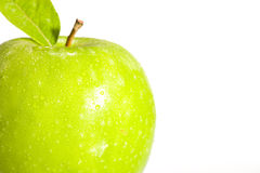 Apple verde fresco Imagem de Stock Royalty Free