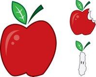 Apple vermelho ilustração do vetor