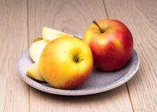 Apple vermelho fresco Imagens de Stock Royalty Free