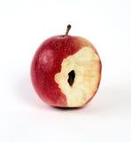 Apple, vermelho, isolado, Imagem de Stock