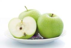 Apple vert frais Photographie stock libre de droits