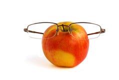 Apple in vetri Fotografia Stock Libera da Diritti