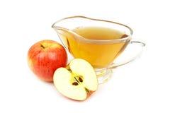 Apple vinägernärbild Royaltyfria Foton