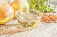 Apple vinegar Stock Photos