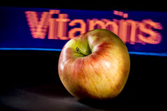 Apple Vitamins Stock Images