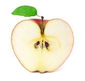 Apple w cięciu Obrazy Royalty Free