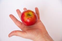 Apple w ręce Zdjęcia Stock