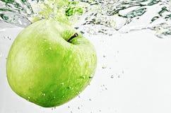 Apple w wodzie Obraz Stock
