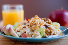Apple walnut salad Royalty Free Stock Images