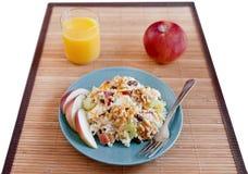 Apple walnut salad Stock Image