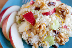 Apple walnut salad Stock Images