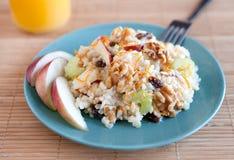 Apple walnut salad Royalty Free Stock Photography