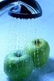 Apple wash Royalty Free Stock Photography