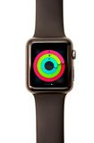Apple Watch Activity Glance Stock Photography