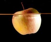 Apple water splash Royalty Free Stock Images