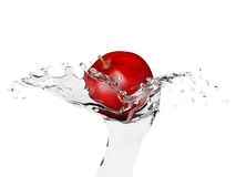 Apple water Stock Photography