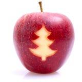 Apple - Weihnachtszeit Lizenzfreies Stockbild