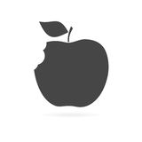Apple - wektorowa ikona Obraz Royalty Free