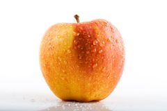 Apple on white Royalty Free Stock Photo